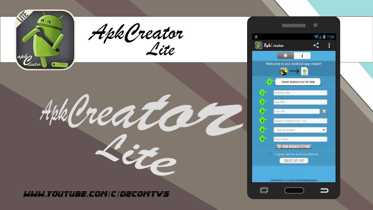 🏷 Apk creator web2app lite apk | Download ApkCreator  2019-03-26