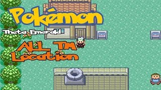 Gambar cover Pokémon Theta Emerald Ex - TM Location