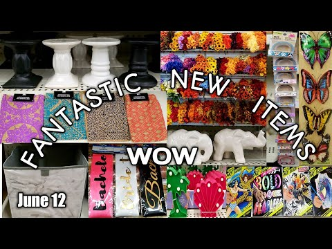 Come With Me To A PHENOMENAL Dollar Tree + 2 Bonus Trips| FANTASTIC New Items | Extra Long| June 12