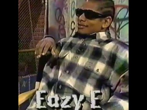 EAZY E INTERVIEW SPEAKS ON NWA REUNION 1994 STRAIGHT OUTTA
