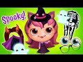 Dress Up for Halloween with Closet Monsters! Crazy Makeovers | TutoTOONS Games for Kids