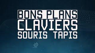 BONS PLANS GAMER : CLAVIERS, SOURIS, TAPIS !
