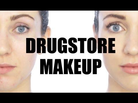 drugstore makeup tutorial  easy everyday look  youtube