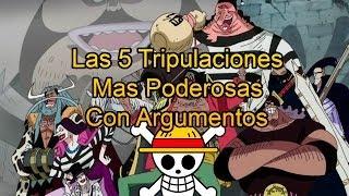 Las 5 Tripulaciones Mas Poderosas de One Piece 2014