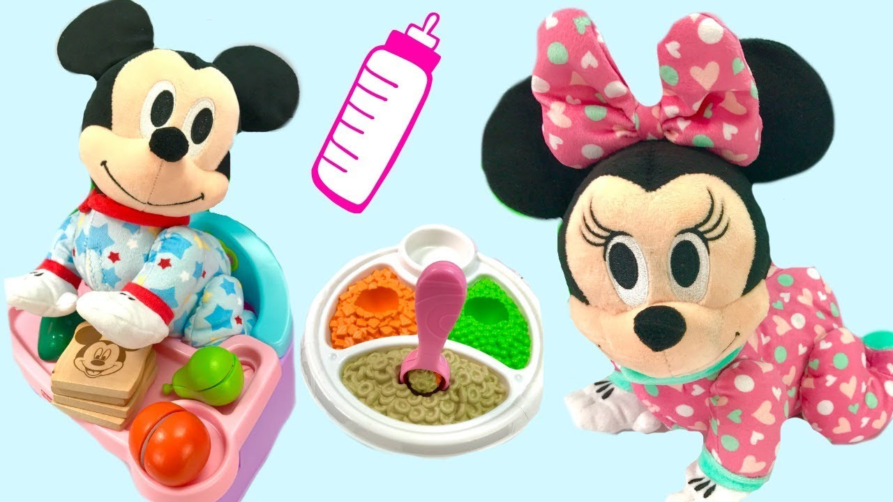 Fizzy Fun Toys: Fun With Disney Mickey And Minnie Mouse Musical Crawling