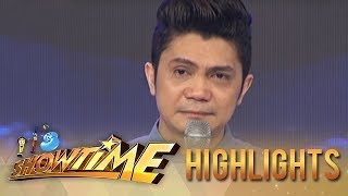 WATCH : Vhong Navarro gets emotional on his return to Showtime