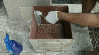 Aprenda Fazer Vaso de Plantas Usando Piso Cerâmica