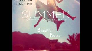 Mosii Officiel Feat.Chris Brown - Beautiful People (Summer Mix)