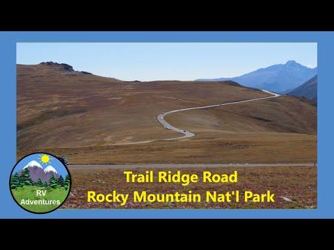 Trail Ridge Road - Estes Park To Grand Lake Colorado In Rocky Mountain National Park