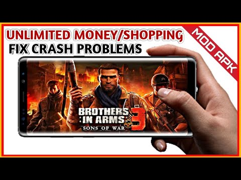 Download Brothers In Arms 3 V1.4.9a Mod Apk Free VIP Free Shopping Fix Crash Problems With Gameplay
