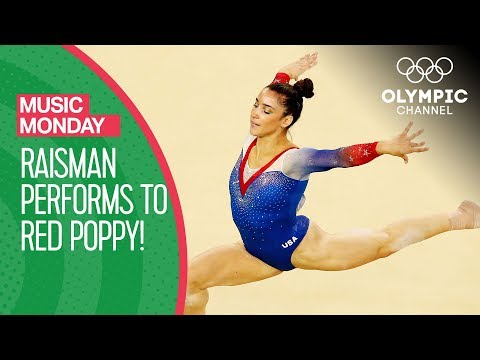 "Aly Raisman's ""Red Poppy"" performance from Rio 2016 