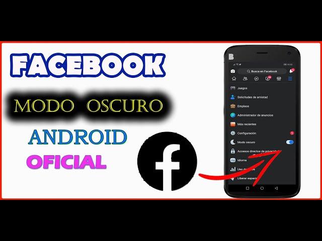 👉📲COMO PONER MODO OSCURO EN FACEBOOK ANDROID 2020 👈 /Dark Mode [Trucos Para Android]