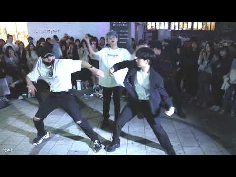 [찍캠/Fancam] 190511 디오비 DOB 홍대 버스킹 - BTS 방탄소년단 작은 것들을 위한 시 Boy With Luv Feat. Halsey