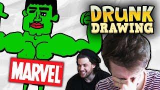 Baixar DRUNK DRAWING MARVEL