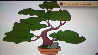 Como dibujar un bonsai - Art Academy Atelier Wii U   How to draw a bonsai