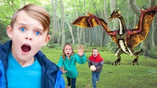 Search for Treasure in Hidden World!  Kids Fun TV!