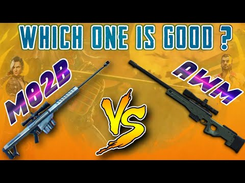 AWM VS M82B (NEW SNIPER GUN) COMPARISON!! FULL DETAILS CHECK OUT!!- Garena free fire!!