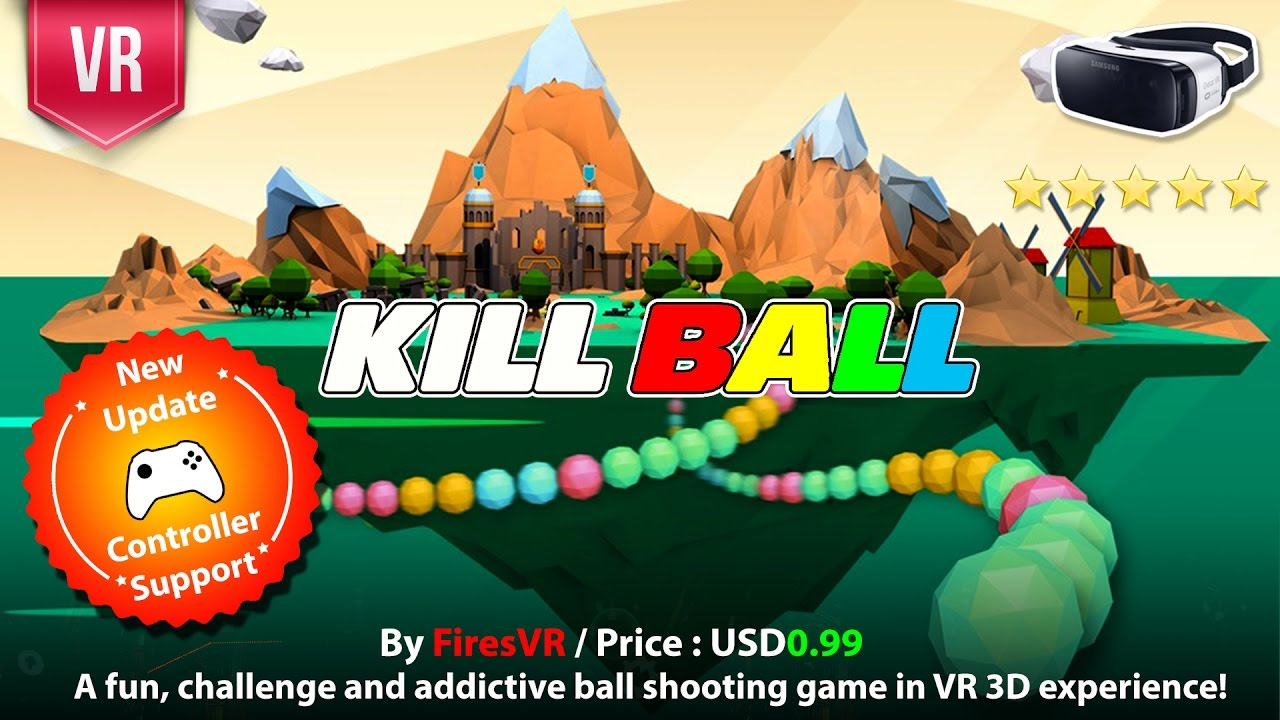 Color zuma game - Kill Ball Gear Vr A Fun Challenge And Addictive Ball Shooting Zuma Style Games In Vr Experience