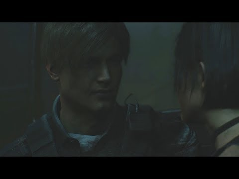Resident Evil 2 Remake - Leon And Ada Wong Kiss Scene