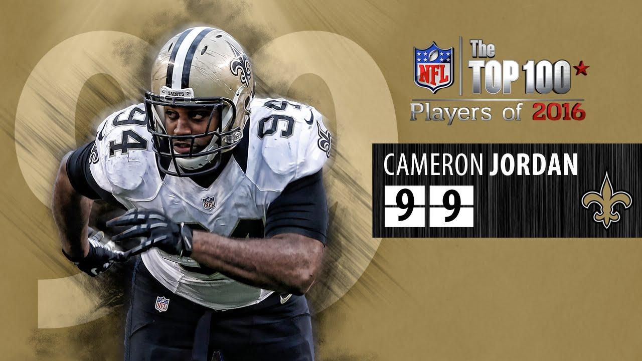 99 Cameron Jordan DE Saints