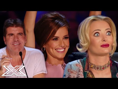 STUNNING Singing Auditions That Made Judges SMILE | X Factor Global