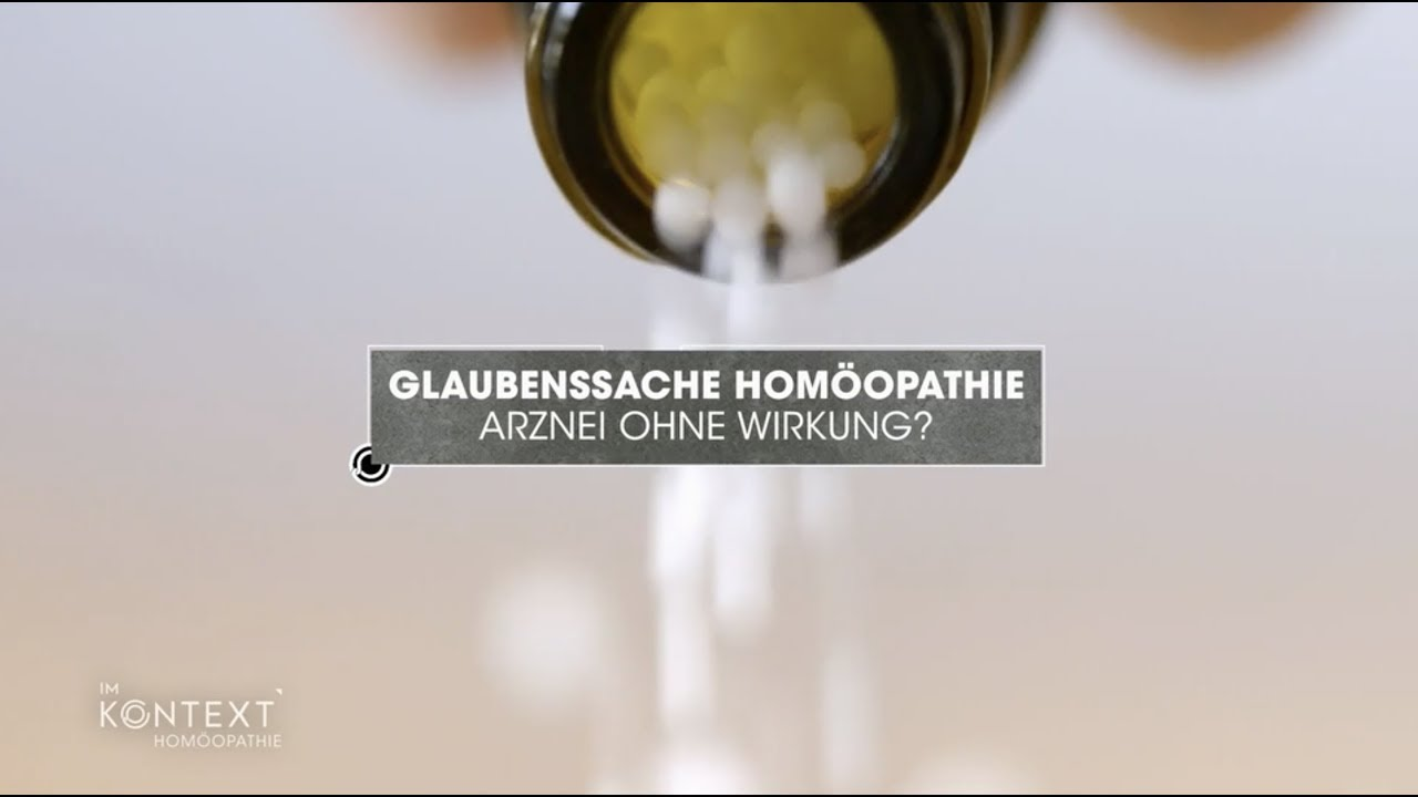 Homöopathie Kritik