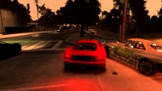 приколы, баги, аварии в GTA 4