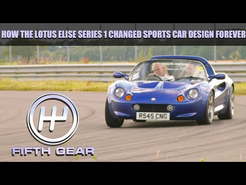 How the Lotus Elise Series 1 changed sports cars forever | Fifth Gear