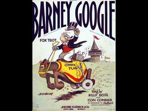 Barney Google - The Savoy Havana Band - 1923