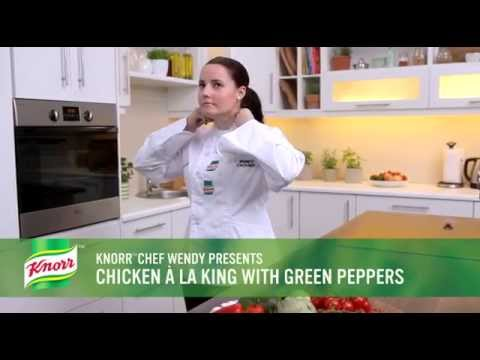 What's for Dinner Chicken a 'la King with Green Peppers Recipe
