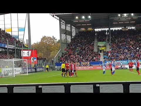 SC FREIBURG vs Hertha BSC Berlin - 2. Elfmeter - 9. Spieltag Buli 2017/18