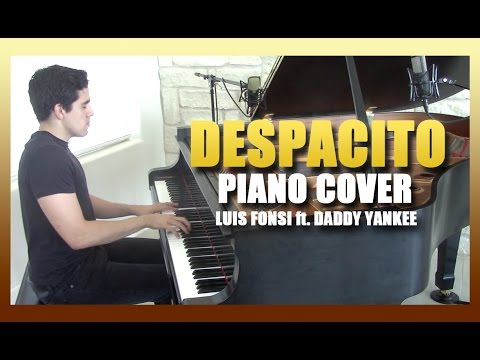 """Despacito"" - Piano Cover + sheet music - Luis Fonsi ft. Daddy Yankee 
