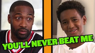 Father/Son Interview: Gilbert Arenas Talks Trash to Son, Alijah Arenas