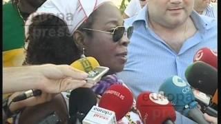 Rita Marley visita la Ciudad de las Artes