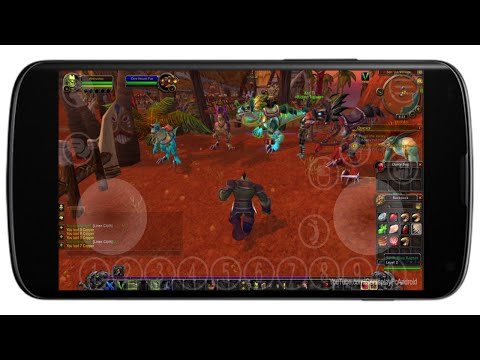 World of Warcraft Android Gameplay