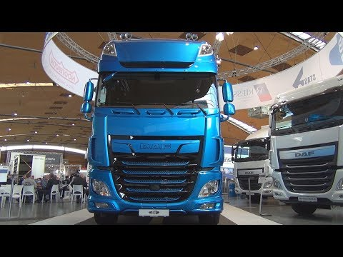 DAF XF 530 FT SSC Tractor Truck 2018 Exterior and Interior