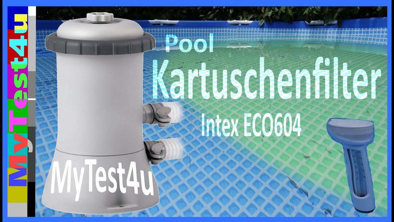 Pool Sandfilteranlagen Im Test Pool Intex Kartuschenfilter Eco 604g