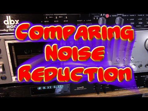 Noise Reduction Comparison: Dolby, Dbx, Super D-
