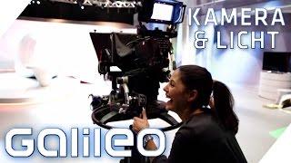 Kamera & Licht | Die Galileo Studio Tour mit Funda