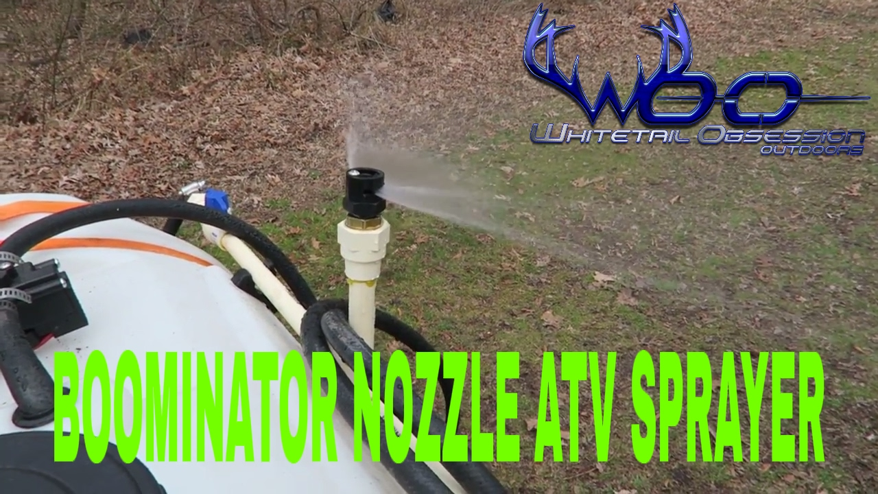 Atv attachments boominator nozzle for sprayer youtube