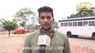 Rajesh At Kaaviyan Movie Shooting Spot