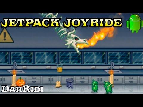 Jetpack Joyride-Прикольное прохождение бесконечной игры)