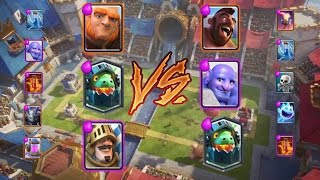 giant prince inferno dragon deck win against hog cycle deck challenge mode