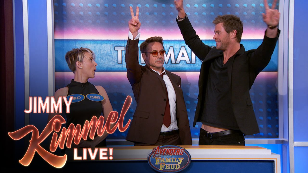 Avengers Family Feud - YouTube