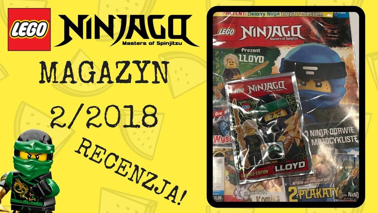 Magazyn Lego Ninjago 022018 Recenzja Youtube