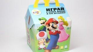 """""""Супер Марио"""" в Хеппи Мил -  Макдональдс. McDonald"""