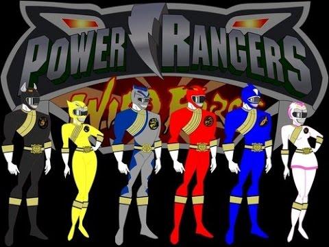 Trò chơi Siêu nhân Gao 3D biến hình Robot siêu thú – game power ranger wild force Gaorangers ps1