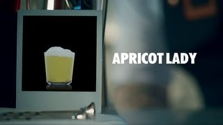 APRICOT LADY DRINK RECIPE - HOW TO MIX