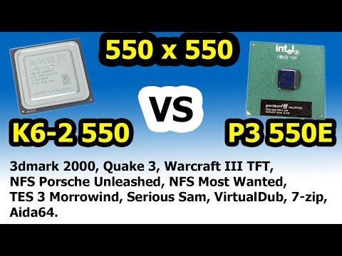 AMD K6 Vs Pentium III