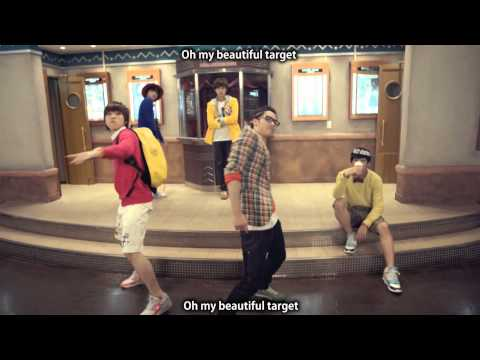 B1A4 (비원에이포) Beautiful Target MV Eng Sub + Han/Rom